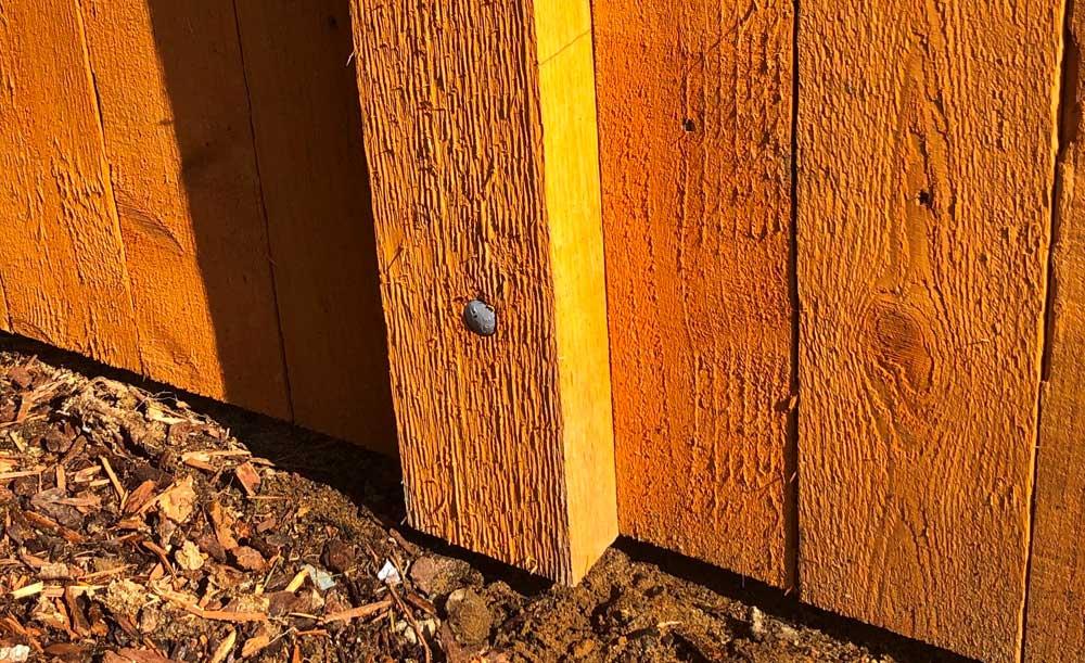 Western Red Cedar pipe-base post